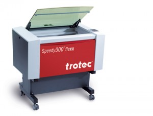 Trotec Speedy 300 Flexx macchina laser incisione taglio marcatura